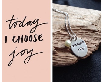 Choose Joy Necklace