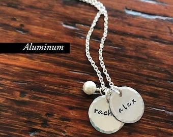 Nolan Necklace in Alunimum