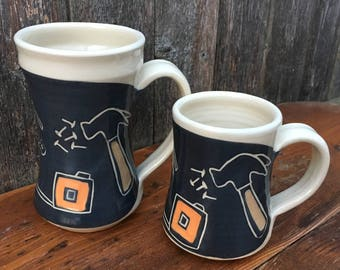 Father and Son Tool Mug Set