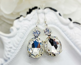 Victorian Jewelry - Crystal Earrings - MYSTERE Crystal