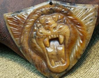 Fierce Leonine Shield
