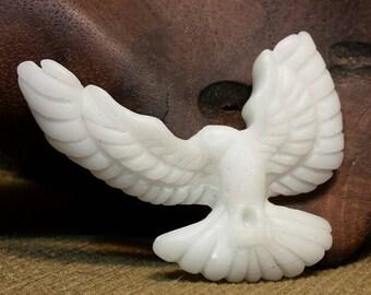 Peace Alighting in White Doves