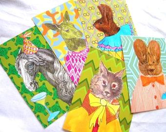pick five postcards make your own custom set
