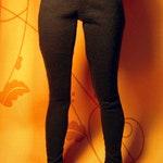 Black leggings for minifee bjd DOLL