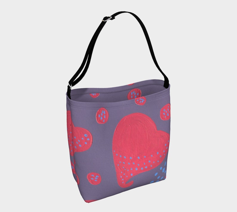 lollipop attacked by hearts Day Tote image 0