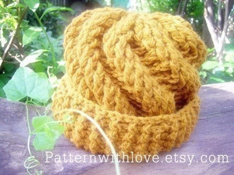 Wave Crochet Hat Pattern Spiral Hat Pattern Crochet Cap  88502518f01
