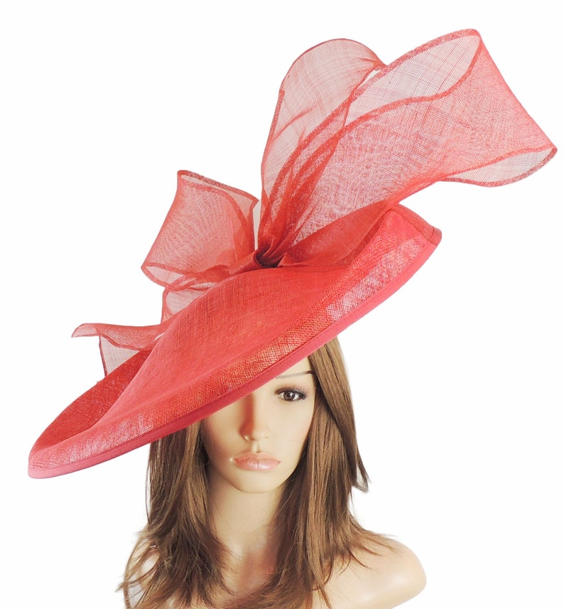 ba51d2176a588 Red Barn Owl Fascinator Hatinator Hat for Kentucky Derby | Etsy