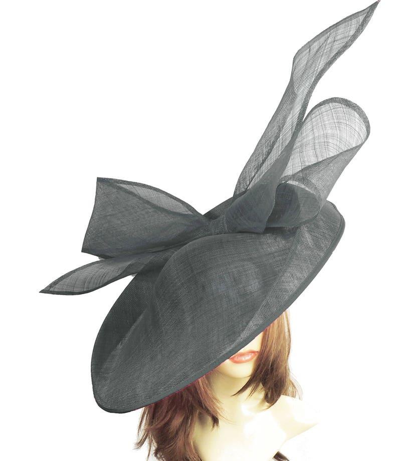 Peach Corail Crin Bandeau Bandeau Fête de mariage pièce course Ascot