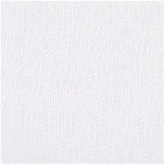 White Semi Sheer Italian Linen Flax Fabric By The Yard, Handkerchief Weight, Italian Woven,