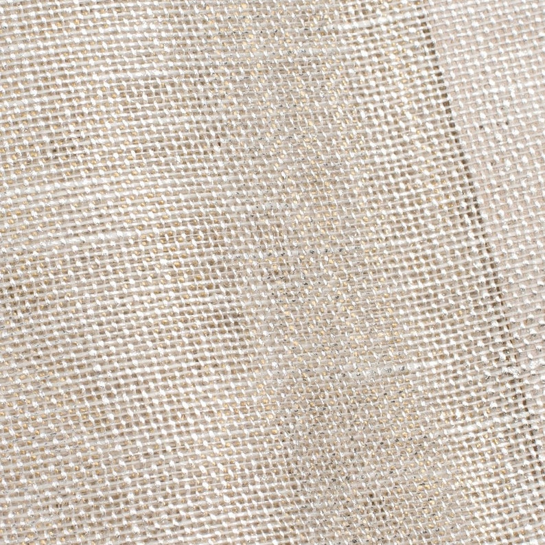 Sheer Egyptian Flax Linen Window Scarf Valance Choose Your Length Available 50 Inch Wide