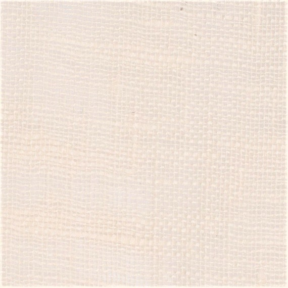 Natural Linen in Creamy Off-White, By The Yard, Very Sheer Egyption Flax, For Curtains Scarves Drapes Overlays Canopies