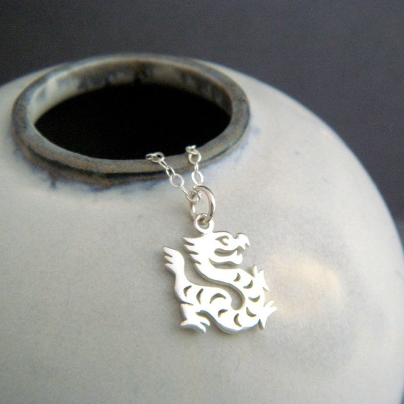 Chinese Zodiac Tiger Charm Sterling Silver .925 Symbol Astrology Year Sign