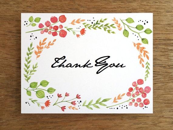 Wedding Gift Thank You Card Template: Wedding Thank You Card Template