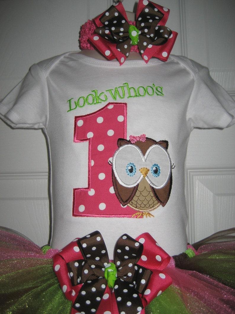 Brilliant Girls Owl Birthday Outfit Look Whoos Tutu Set Owl Cake Smash Funny Birthday Cards Online Hendilapandamsfinfo