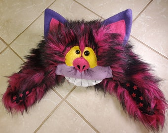 Cheshire Cat Hungry Hat - MADE-TO-ORDER