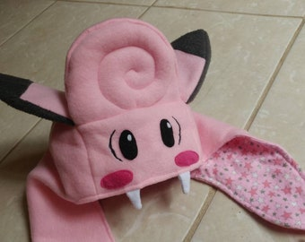 Clefairy Hungry Hat (Pokemon Inspired) - MADE TO ORDER