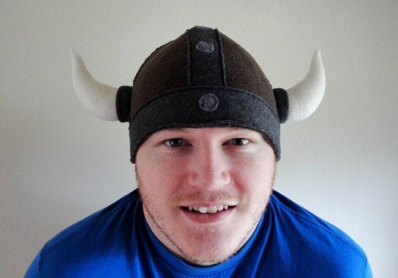 Adult Medium Size READY TO SHIP Viking Beanie