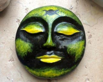 Lunar Dark New Moon Goddess Sculpture