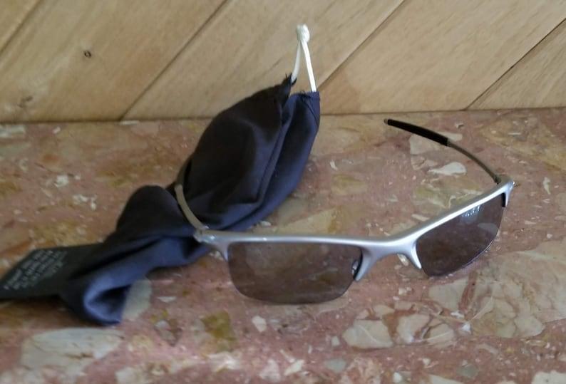 6ffbe842baf5 Vintage Oakley Sunglasses with Mesh Case Retro Sunglasses   Etsy