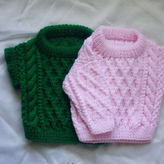 Treabhair baby aran sweater and pullover PDF knitting ...