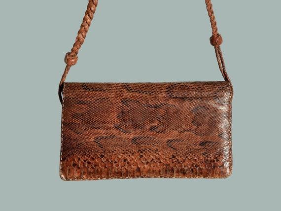 Vintage satchel, handbag, 1960s