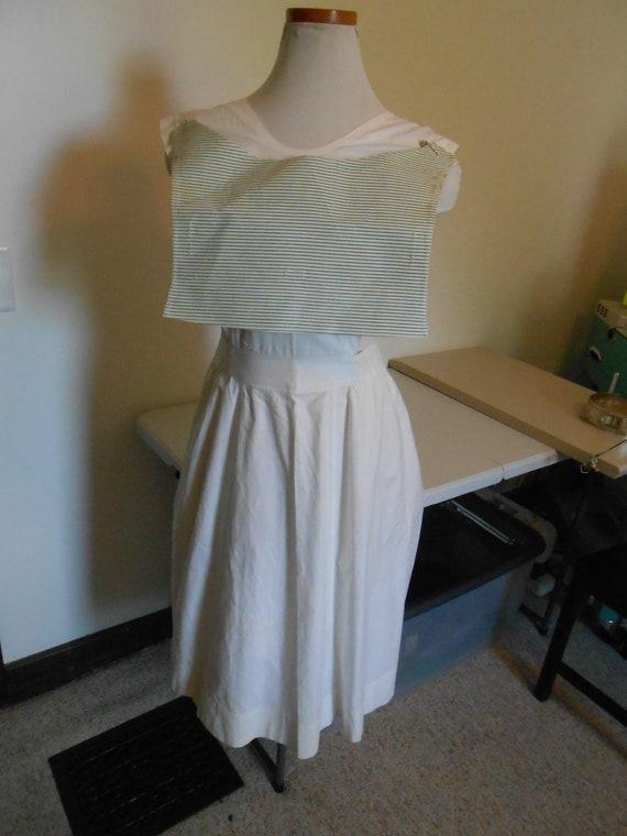 1940s Nurses uniform, WWII Navel nurses uniform wh