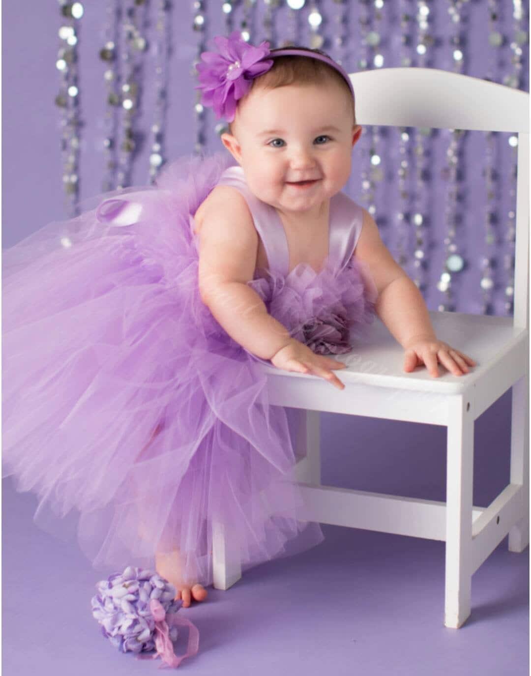 47ede63ec96 PANSY LIGHT PURPLE Tutu Dress Flower Girl Gown Pageant
