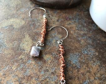copper swirls