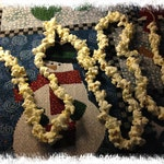 Hand Strung Popcorn Garland--Real Popcorn--Great for a Primitive Tree--MADE TO ORDER
