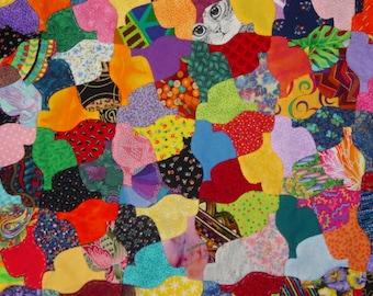 Tessellating Birds English Paper Piecing Quilt Pattern pdf Download