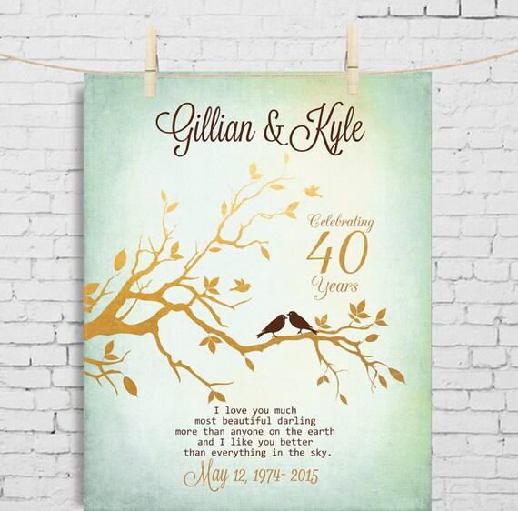 Eltern Jahrestagsgeschenk Fur Eltern Die Hochzeit 40 Etsy