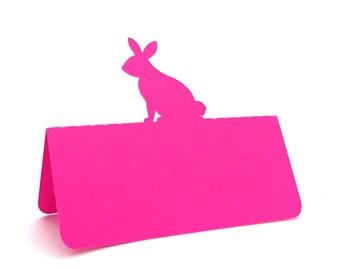 Rabbit Place Cards, Easter Rabbit, Easter Dinner, Escort cards, baptism, baptism lunch