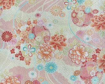 24cmx13cm Kleenex Carring Kimono Fabric Case made with vintage silk Japanese kimono fabric