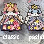 Lady Kitsune: Girl's Day Animal Enamel Pins