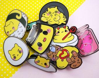 Egg Kitties  - Hard Enamel Pins Series
