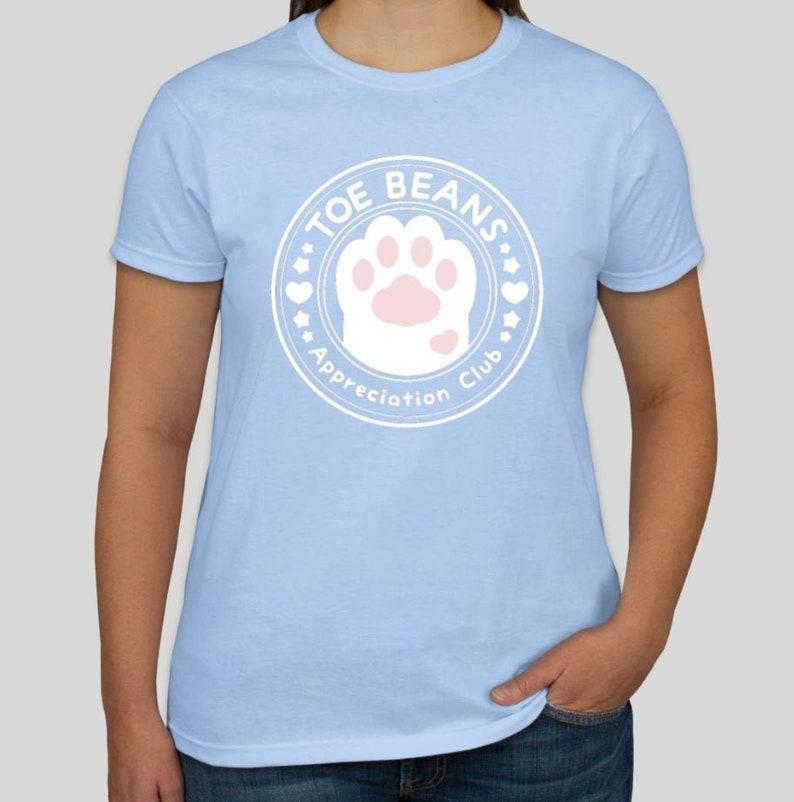 Toe beans appreciation club Tee Shirt image 0