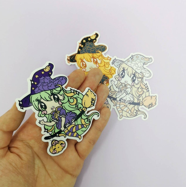 Lil Witches : Die Cut Stickers image 0