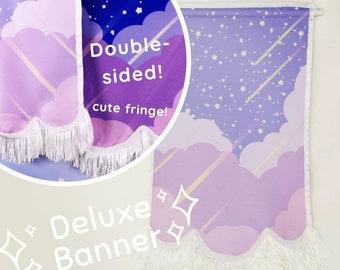 Kawaii Cloud Pin Display Banner