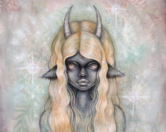 Lilith 5x7 art print