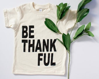 Thanksgiving shirt for kids | Thanksgiving t shirt | black and cream graphic tee | clothing for boys | girls | tops | tee