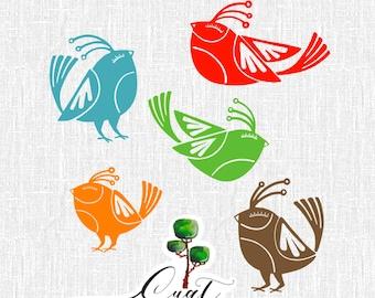 Little Birds Vol 6 Wall Vinyl Decals Art Graphics Stickers