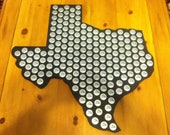 State of your choice bottle cap display holder, Beer Caps, pick from the 48 states, K2