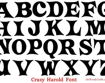 12 Inch Unfinished Wooden Letters 5 Fonts Georgia Curlz Boys R Gross Crazy Harold And Delta Hey 1 2 Thick Ready To Paint 18