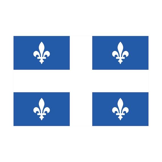 Drapeau du Québec BOUCLES D/'OREILLES adulte ou enfants-drapeau du Québec Clous D/'Oreilles