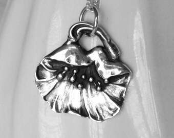 "California Poppy - Fine Silver - ""Flower That Never Wilts"""