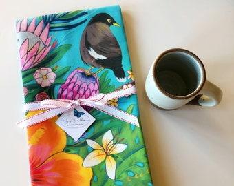 Island Myna Birds : Tea Towel