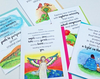 Greeting Card Set : Infinite Purpose