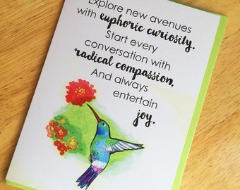 Greeting Card : Radical Compassion