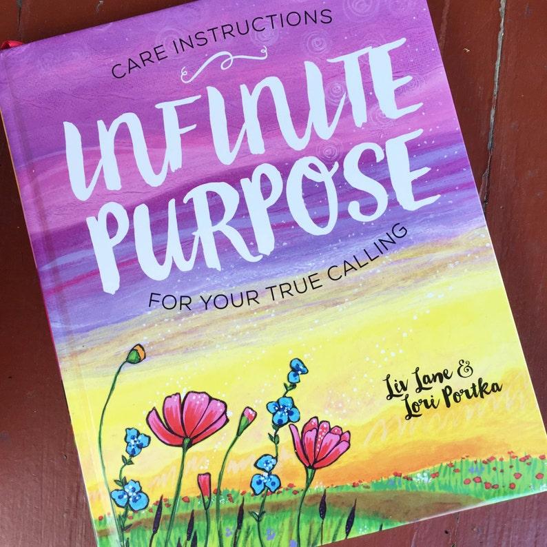 Hardcover Book : Infinite Purpose image 0