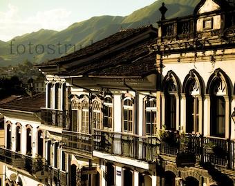 Brazil Photograph. Ouro Preto 2, Minas Gerais, Brazil 8x12